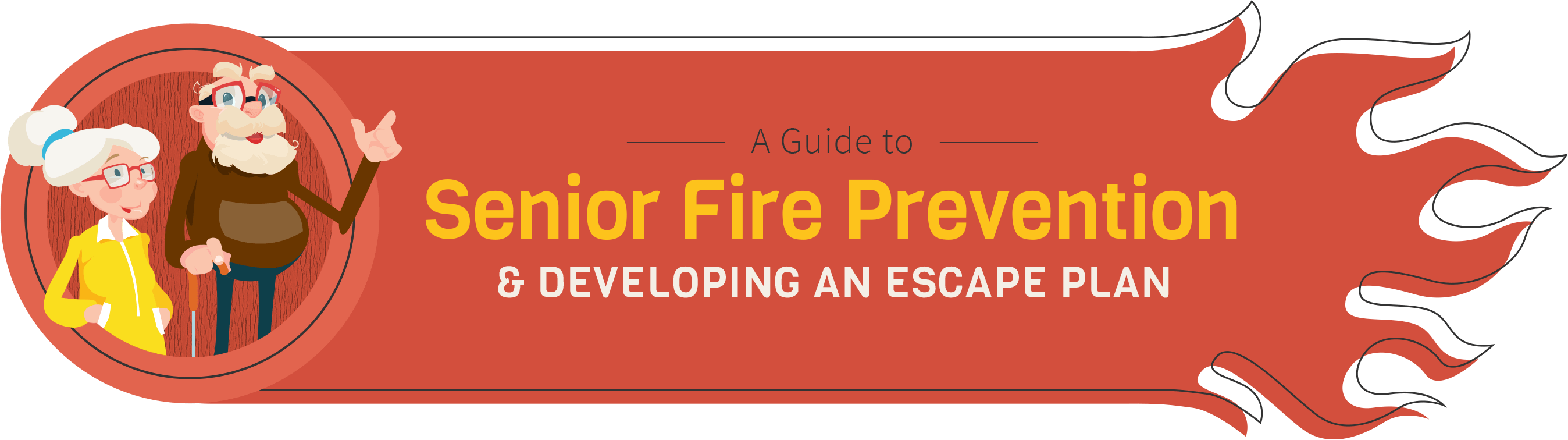 A Guide to Senior Fire Prevention & Developing and Escape Plan