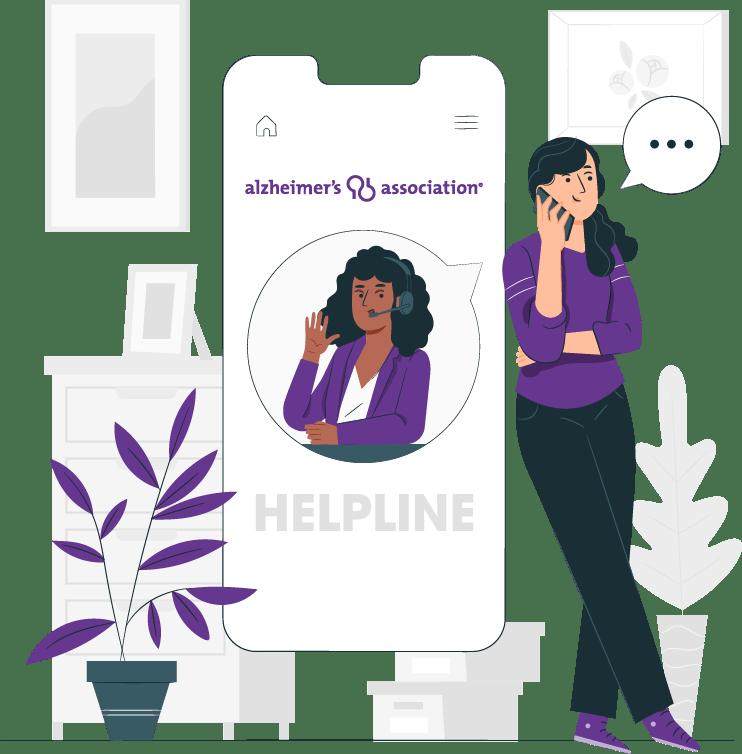 Alzheimer's Association Helpline