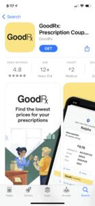 GoodRx app