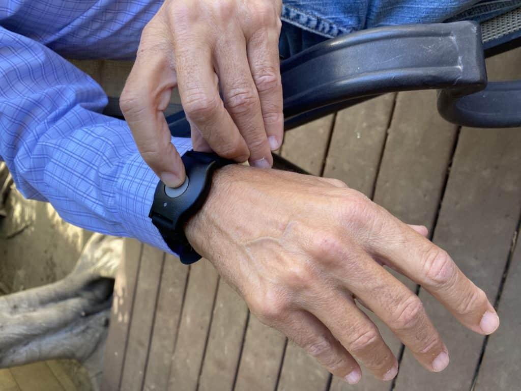 MobileHelp On-The-Go Wrist Pendant