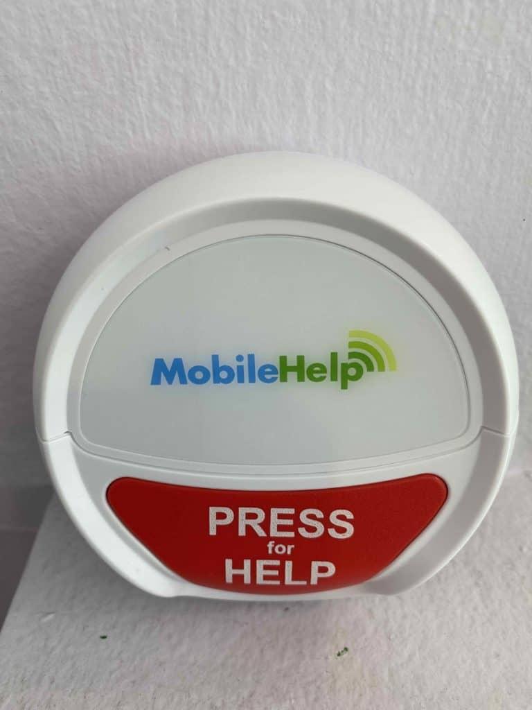 MobileHelp Wall Button