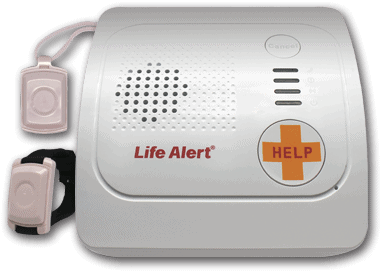 Life Alert Base Unit and Wearables