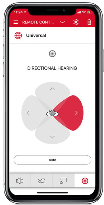 Signia App Directional Hearing
