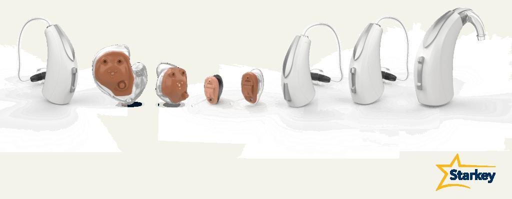 Starkey Hearing Aids Lineup