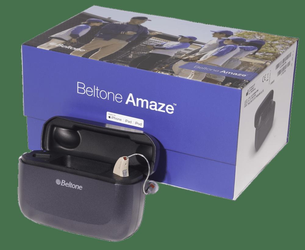 Unboxing the Beltone Amaze hearing aids