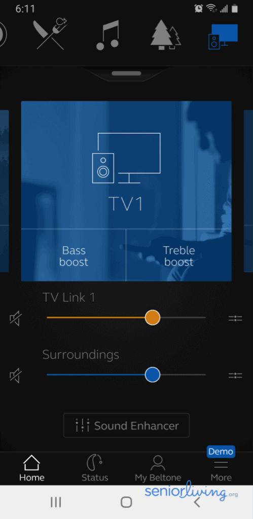 HearPlus TV Link