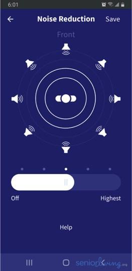 MD App Noise Reduction