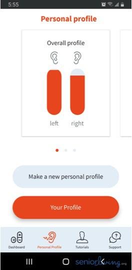 MD App Personal Profile
