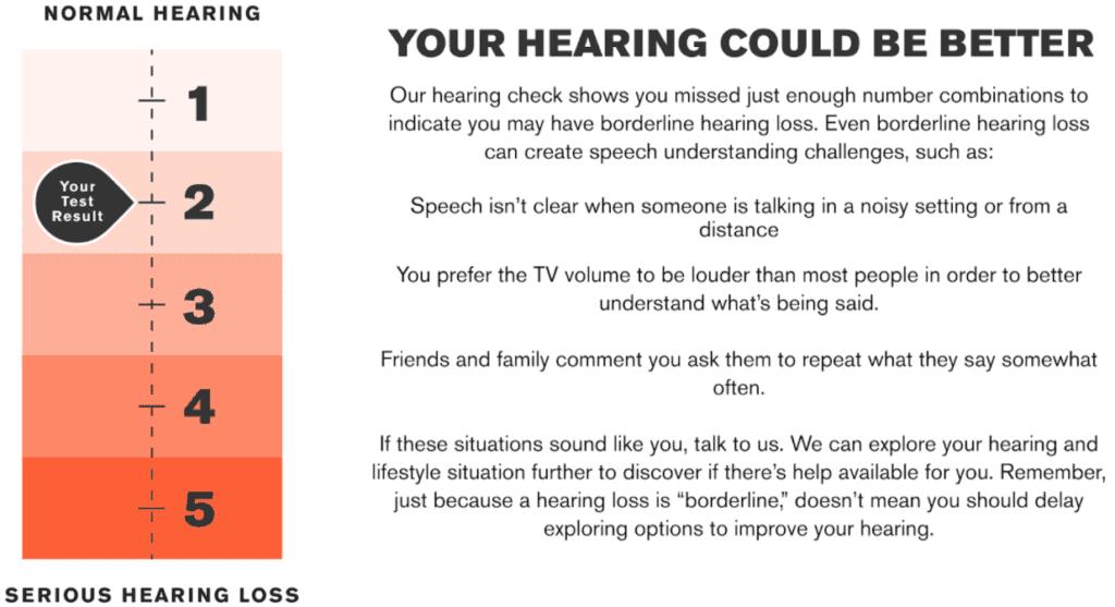 Eargo Hearing Test