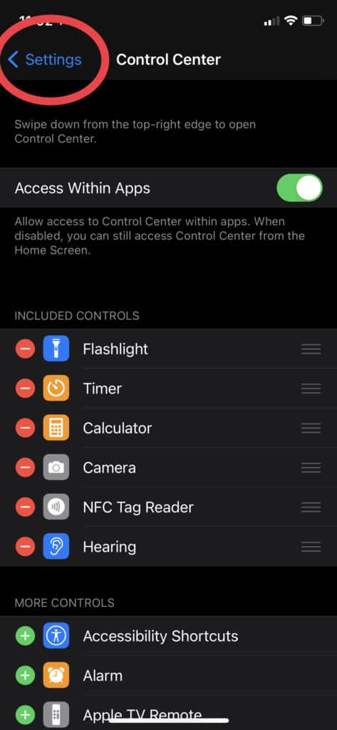 AirPods - Tap out of your settings to save changes