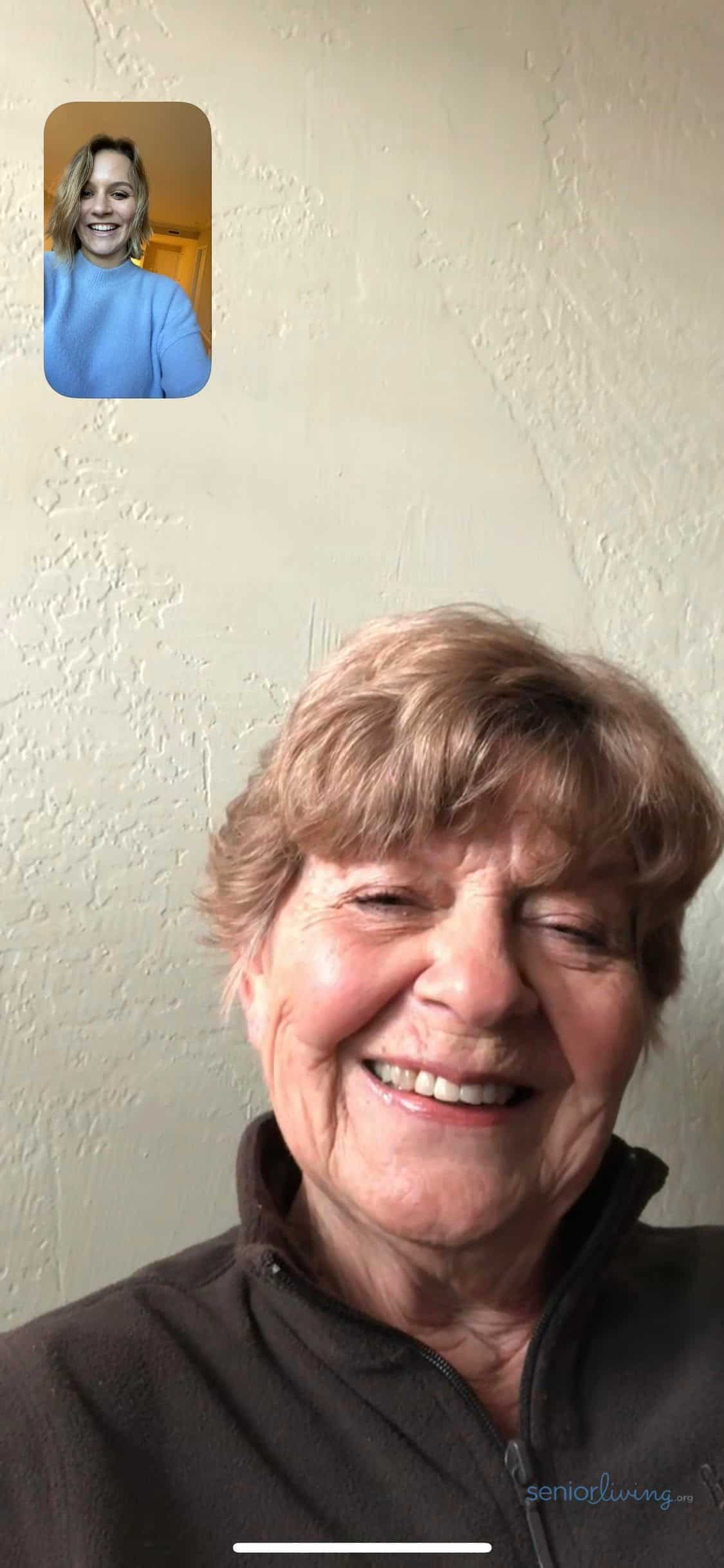 FaceTime - Our Editor FaceTiming with her grandma