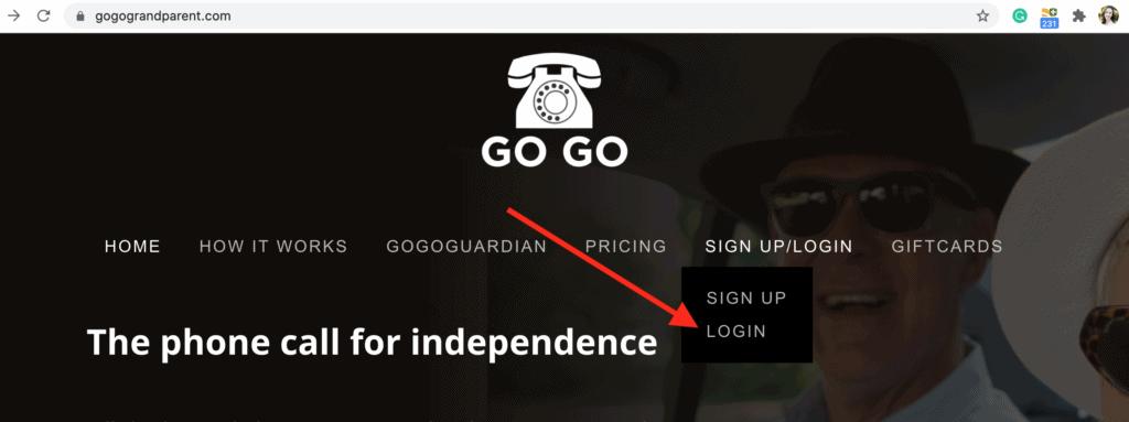 GoGoGrandparent - Sign Up for GoGo