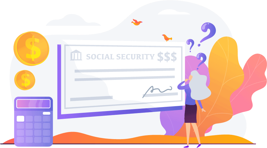 how much social security with i get