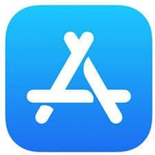 The Apple App Store icon