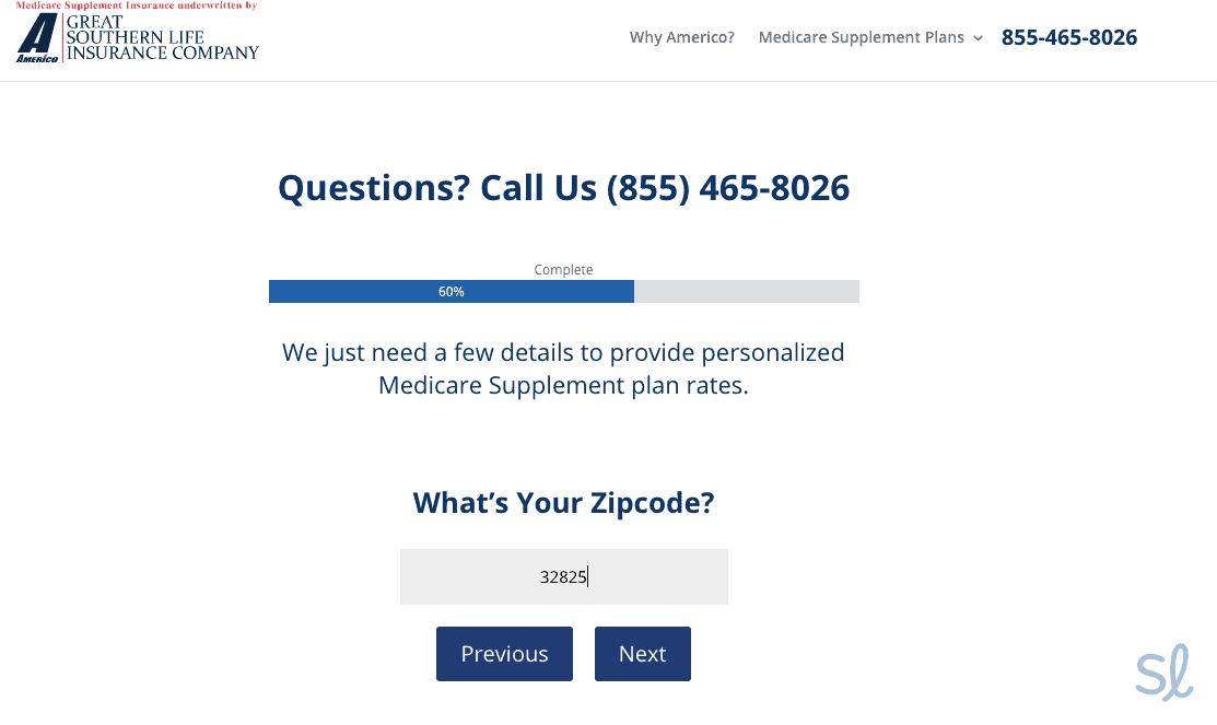 Type in your ZIP code - Americo