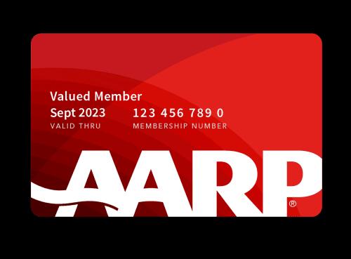 AARP membership card. Source: AARP