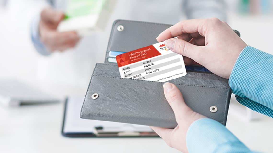 Save on medications with the AARP Prescription Card. Source: AARP
