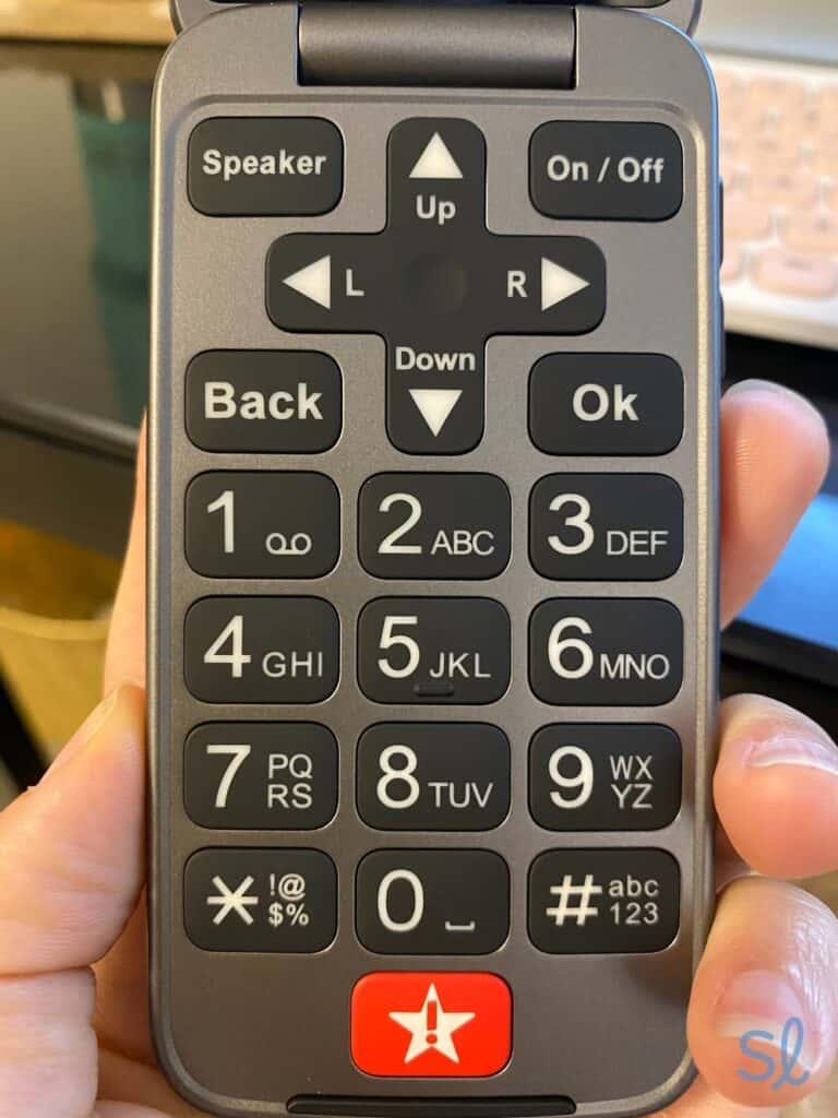 The Lively Flip keypad
