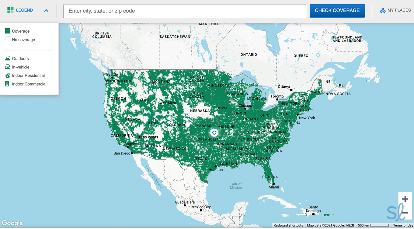 Before you sign up for your Mint plan, check the coverage in your area.