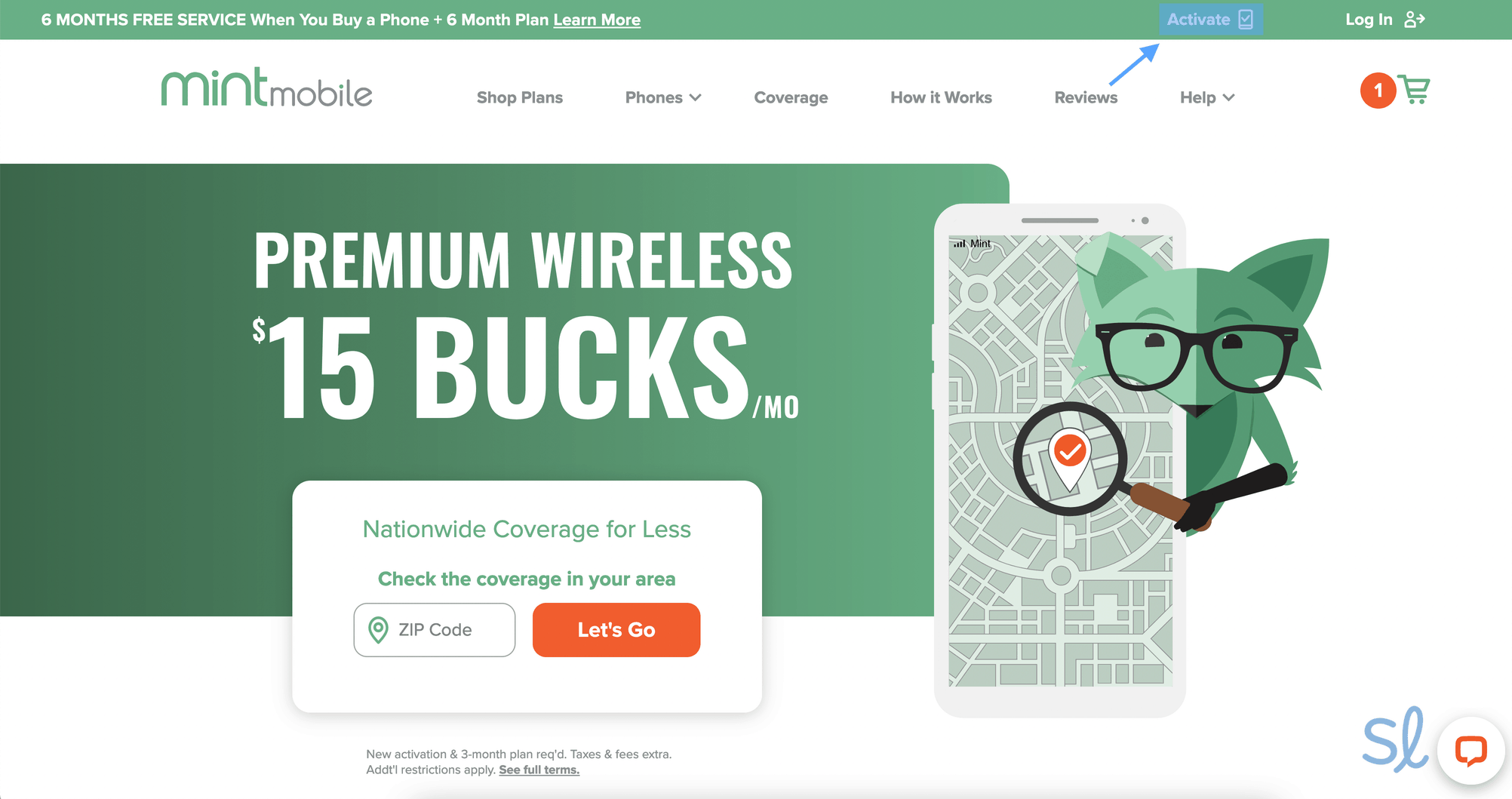 To get started with Mint, first you've got to activate your SIM.